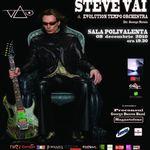 Concert Steve Vai miercuri la Sala Polivalenta