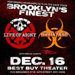 Filmari cu Life Of Agony in New York