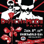 Depeche Mode Party, sambata in club Underworld