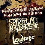 Concert Spiritual Ravishment in Roland Garros din Cluj
