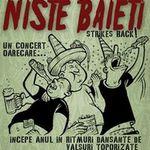 Concert Niste Baieti in club Expirat din Bucuresti