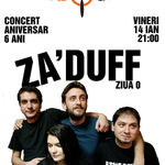 Concert Aniversar Ziua 0 cu Za'Duff in Wings Club