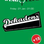 Concert Dekadens in Wings Club din Bucuresti