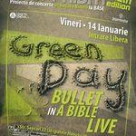 Proiectie Green Day in Base Cafe Bucuresti