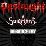 Onslaught dau startul turneului Sound of Violence