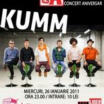 Concert Kumm in Club A din Bucuresti