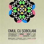 Concert Omul Cu Sobolani in Boiler Club din Cluj