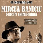 Concert Mircea Baniciu in Fire Club Bucuresti