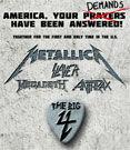 Trailer pentru concertul The Big Four din California