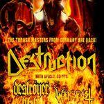 Destruction anunta un nou turneu