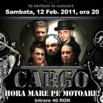 Concert Cargo in Watt Club Bucuresti