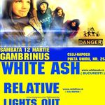 Concert White Ash si Relative in Gambrinus Pub Cluj
