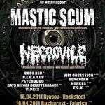 Mastic Scum si Necrovile anunta Romanian Madness Tour