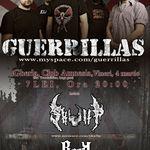 Guerrillas anunta o serie de concerte