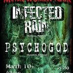 Infected Rain si Psychogod anunta o serie de concerte