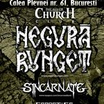 Concert Negura Bunget si Sincarnate in Silver Church