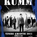 Concert Kumm in club Hand din Iasi