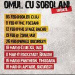 Omul cu Sobolani anunta noi concerte