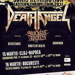 Reminder: Concerte Death Angel si Suicidal Angels in Bucuresti si Cluj-Napoca