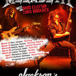Megadeth sustin sedinte meet and greet in Europa
