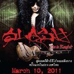 Filmarea conferintei de presa cu Slash in Tailanda