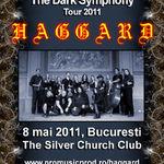 Ultimele bilete speciale pentru concertul Haggard la Bucuresti