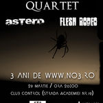 Concert Alternativ Quartet si Astero in club Control din Bucuresti