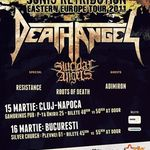 Concert Death Angel si Suicidal Angels miercuri la Bucuresti