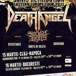 Concert Death Angel si Suicidal Angels miercuri la Bucuresti
