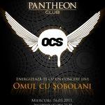 Concertul Omul Cu Sobolani in Pantheon club Timisoara