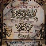 Concert Ragnarok, Nervochaos si Sheol in club Daos Timisoara