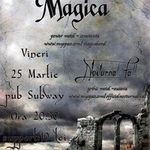 Concert Magica in club Subway din Bacau