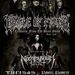 Cradle Of Filth live la The Daily Habit