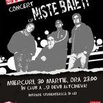 Concert Niste Baieti in Club A din Bucuresti