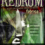 Concert Redrum (Alice In Chains tribute) in Club Fabrica