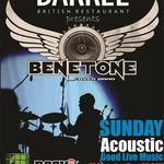 Concert Benetone in The Barrell Bucuresti