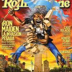 Iron Maiden apar pe coperta revistei Rolling Stone Argentina