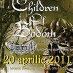 Programul concertului Children Of Bodom la Bucuresti