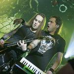 Poze cu Children Of Bodom si Ensiferum la Bucuresti