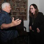 Ozzy Osbourne s-a intalnit cu presedintele statului Panama (foto)