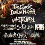 TBDM, Whitechapel si Six Feet Under pornesc in turneu