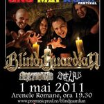 Concert Blind Guardian duminica la Arenele Romane