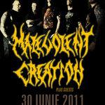 Trupele confirmate in deschiderea concertului Malevolent Creation la Bucuresti