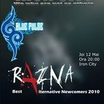 Concert Razna si Blue Pulse in Iron City Bucuresti