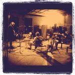 Poze din studio cu Mastodon