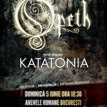 Reducere de 25% pentru biletele la concertul Opeth si Katatonia