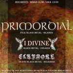 Programul concertului Primordial la Bucuresti