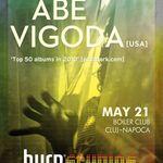 Concert Abe Vigoda in Boiler Club din Cluj