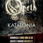 Ultima zi de reduceri pentru biletele la Opeth si Katatonia