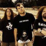 Filmari din studio cu Napalm Death